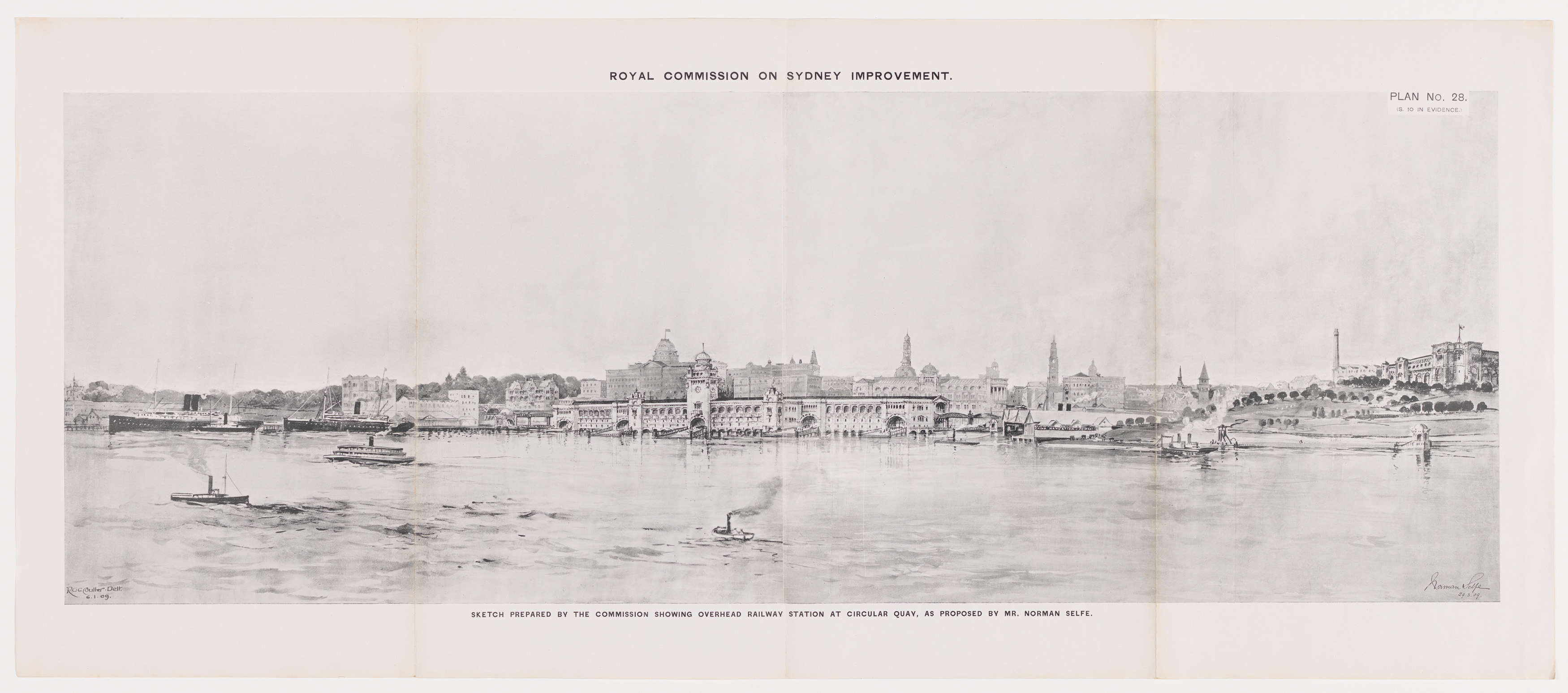 Royal Commission for the Improvement of the City of Sydney and Its Suburbs plans, &c. /