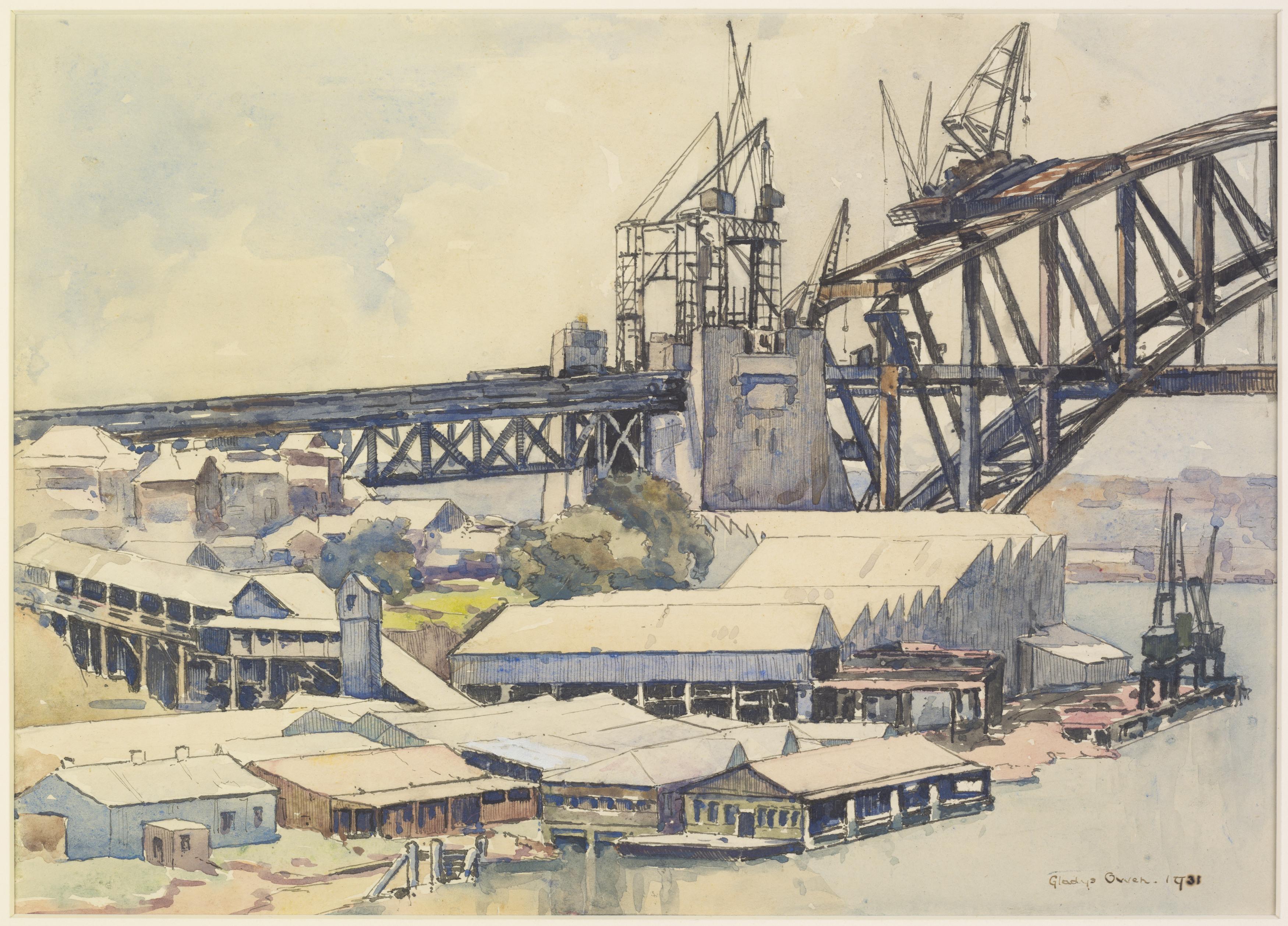 The Bridge Workshops, 1931 / Gladys Owen