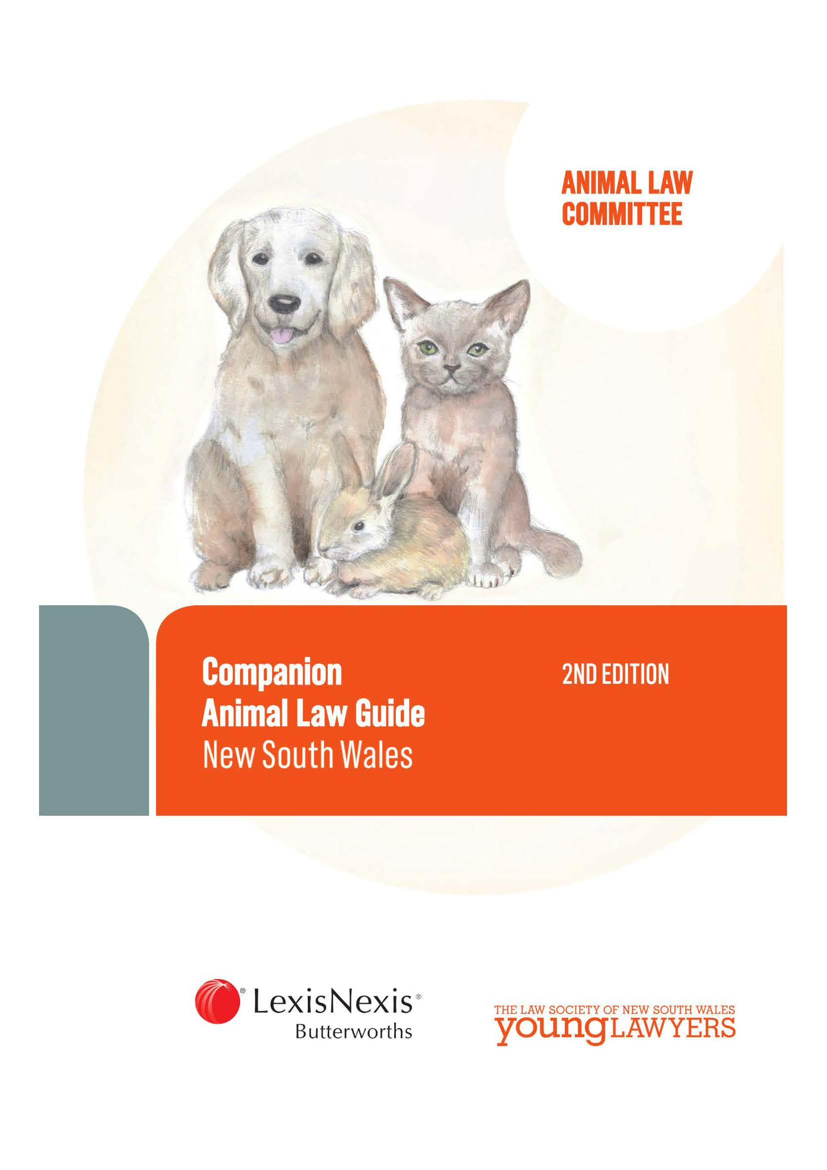 Companion animal law guide New South Wales. 2nd ed Cover