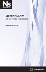 Cover for Criminal law. 7th ed