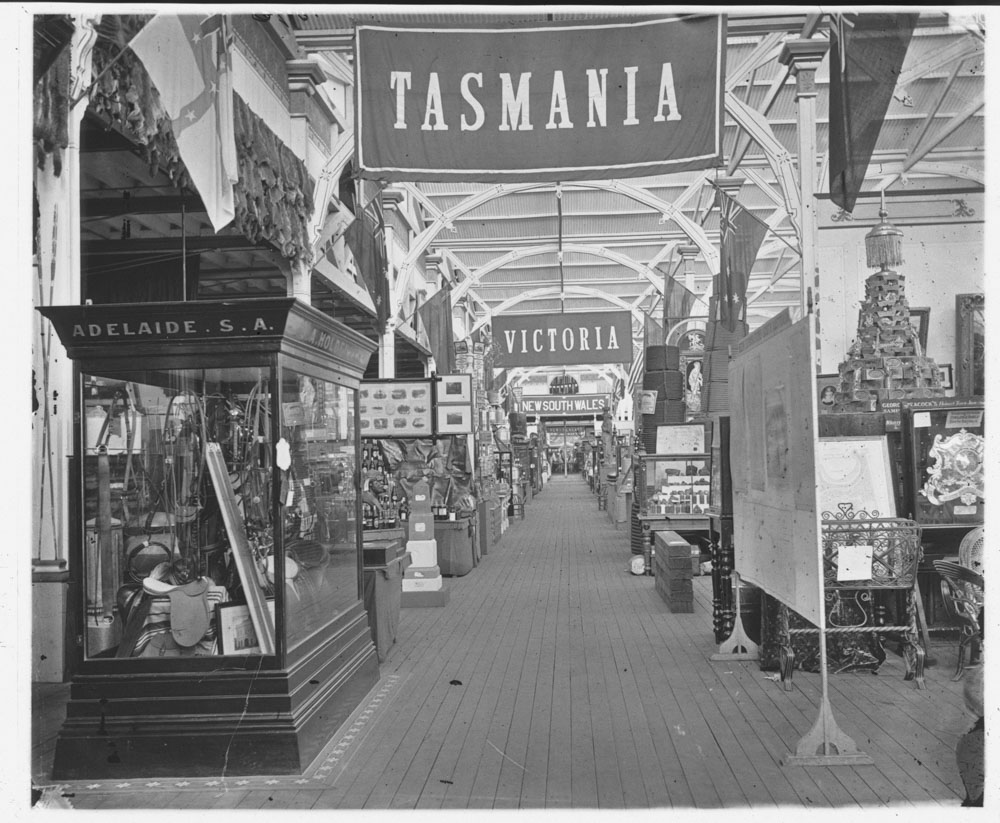 Tasmanian court, Garden Palace
