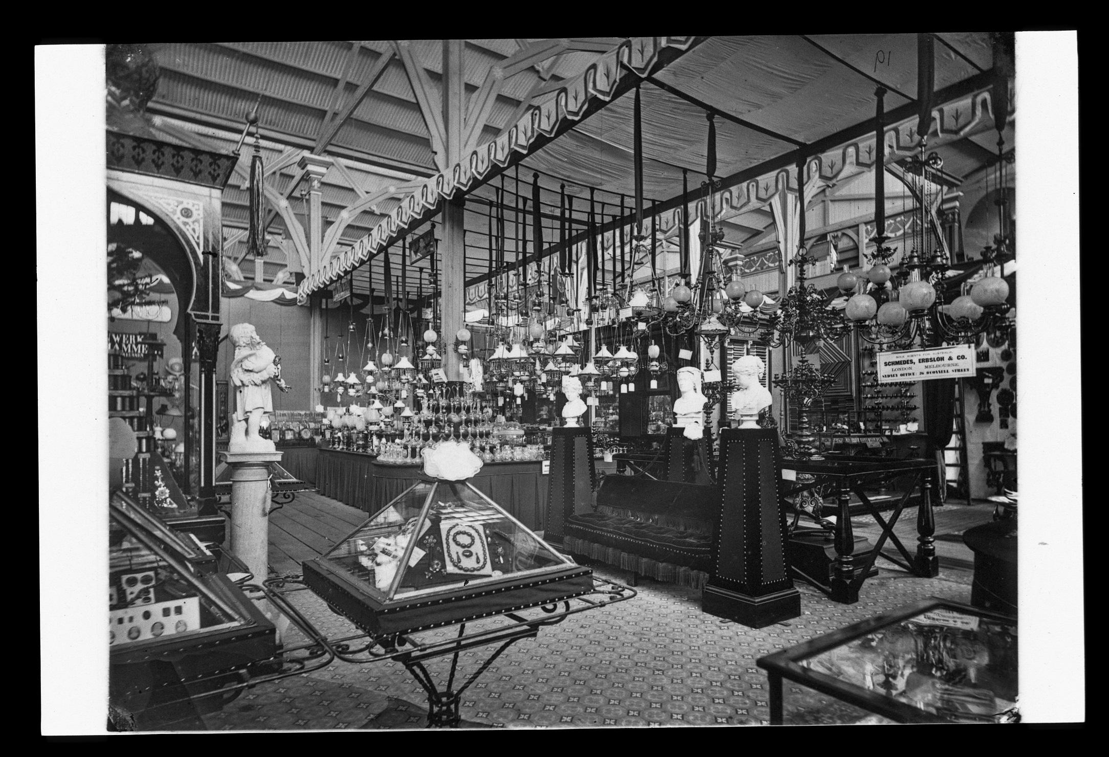 Exhibits, International Exhibition, Sydney, 1879-80