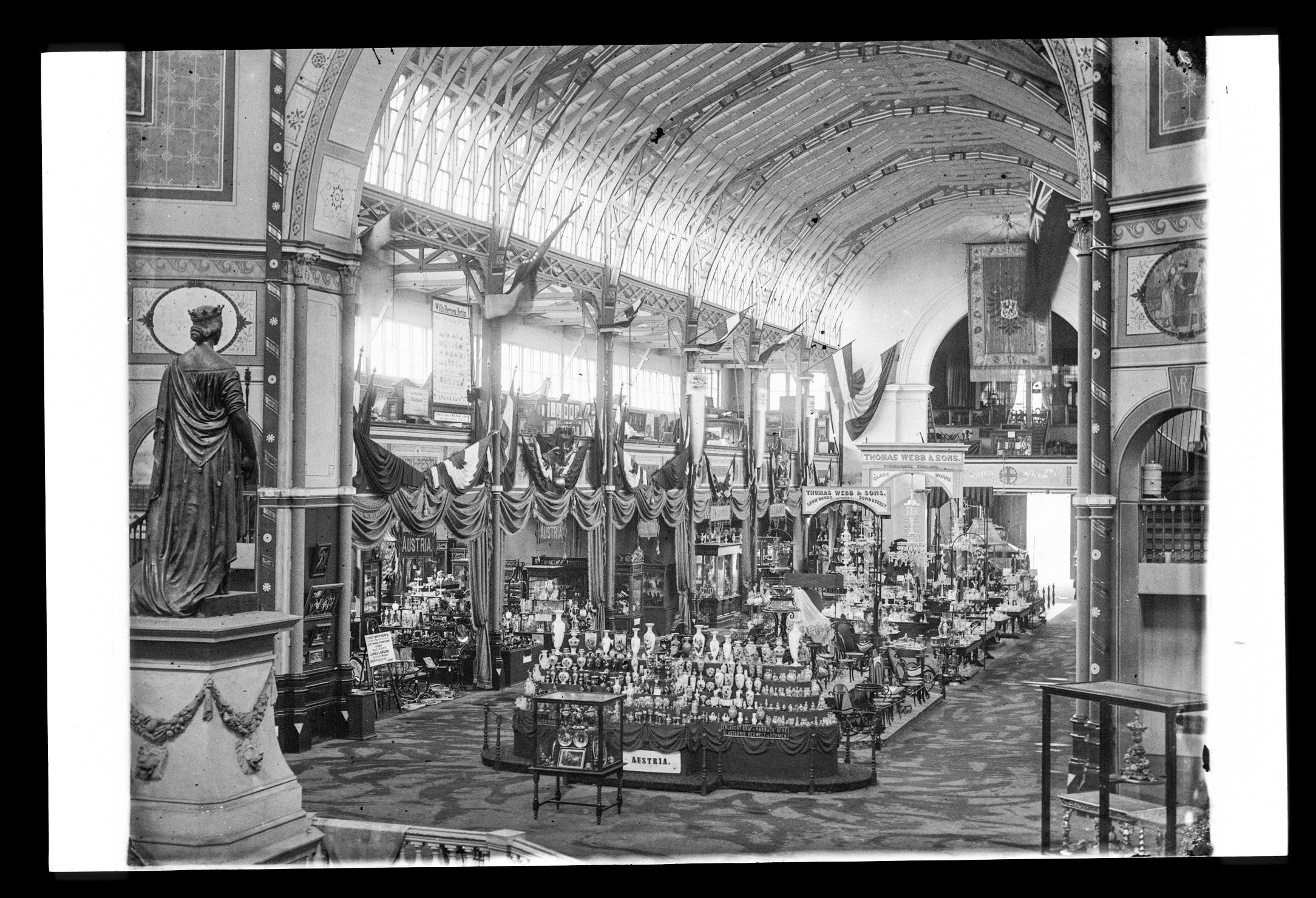 International Exhibition, Sydney, 1879-80: hall of exhibits