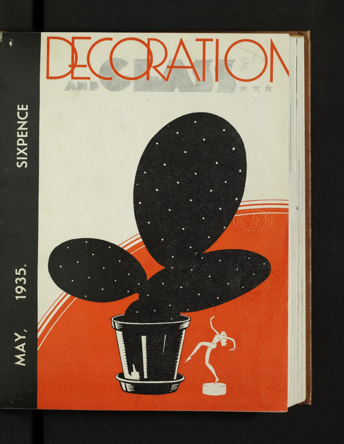 Decoration and Glass, Published by Australian Glass Manufacturers Co. Ltd, Dowling Street waterloo, NSW, Australia, Vol.1, No 1, 1 May, 1935