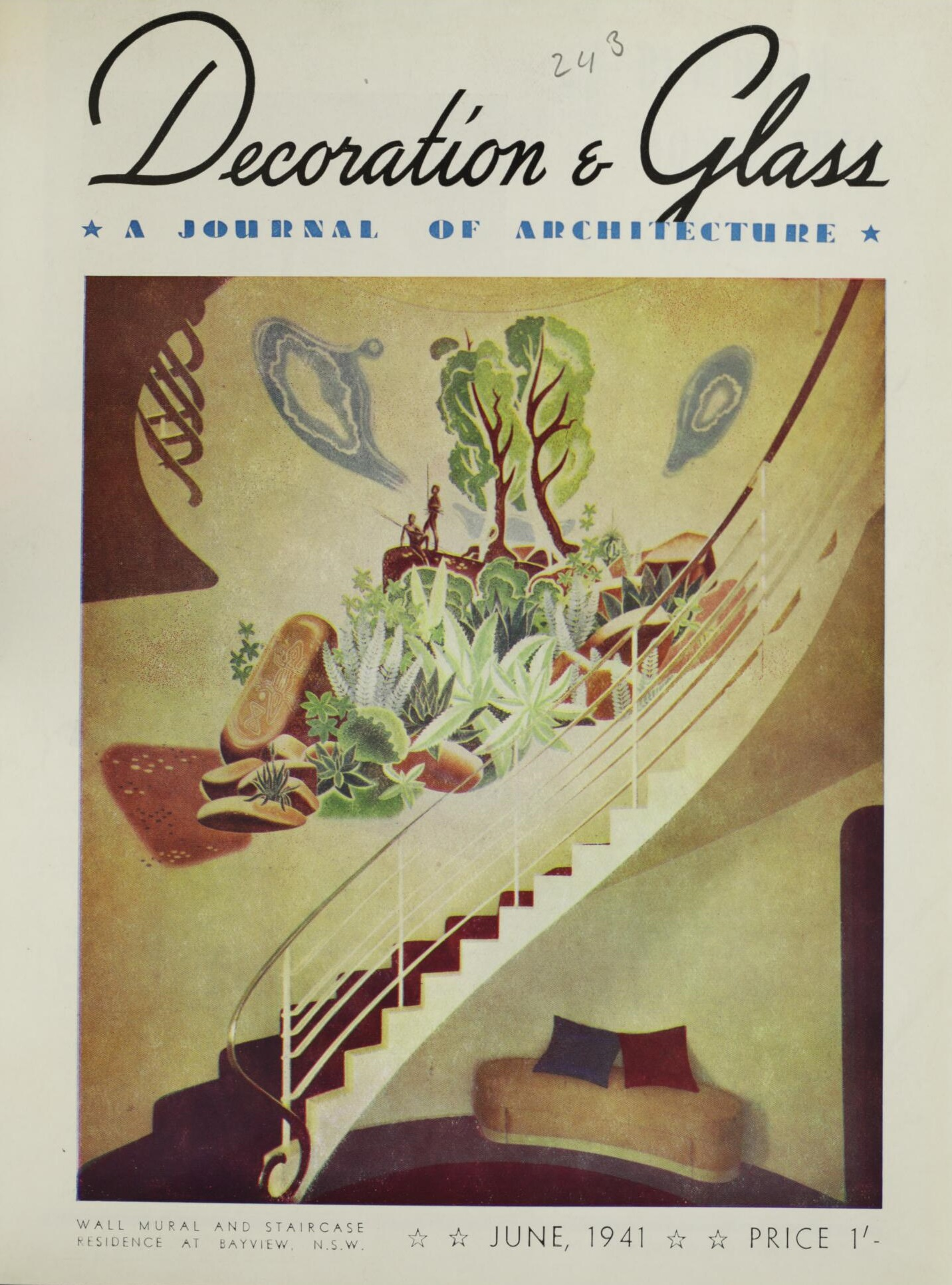 Decoration and Glass June 1941
