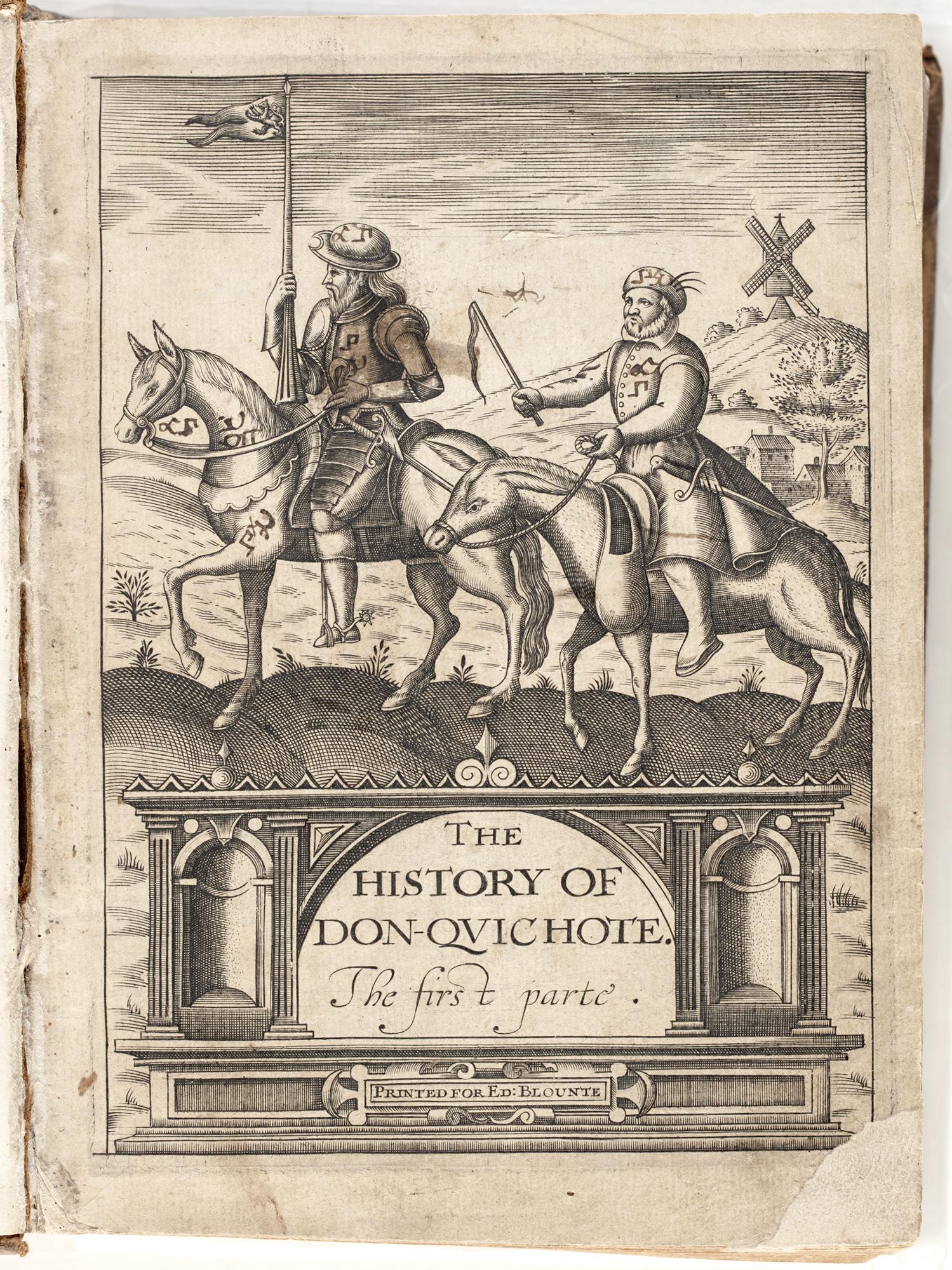 Don Quixote, 1620, by Miguel de Cervantes