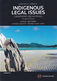 Cover for Indigenous legal issues: commentary and materials. 4th ed