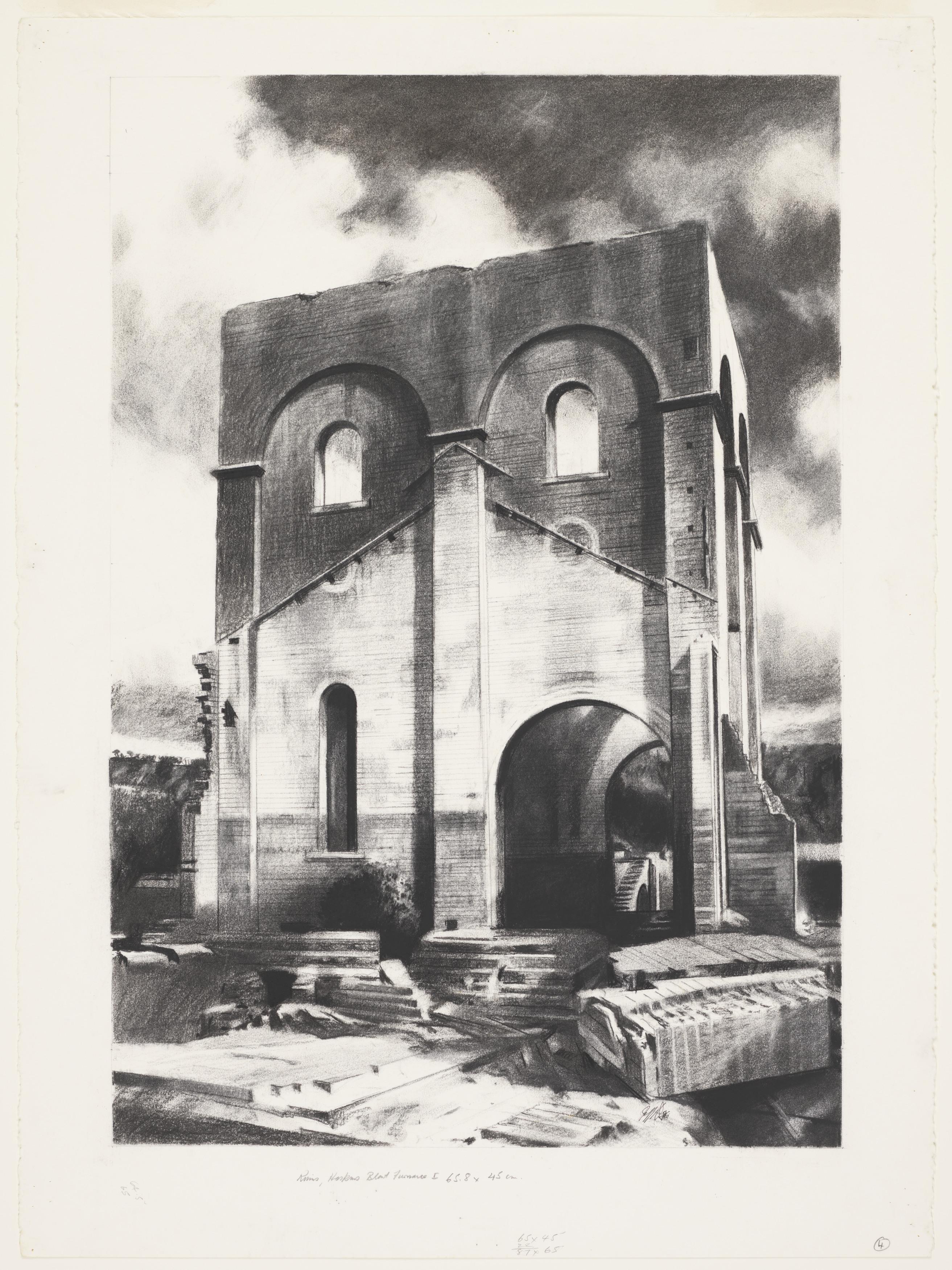 Ruins, Hoskin's Blast Furnace No. 1
