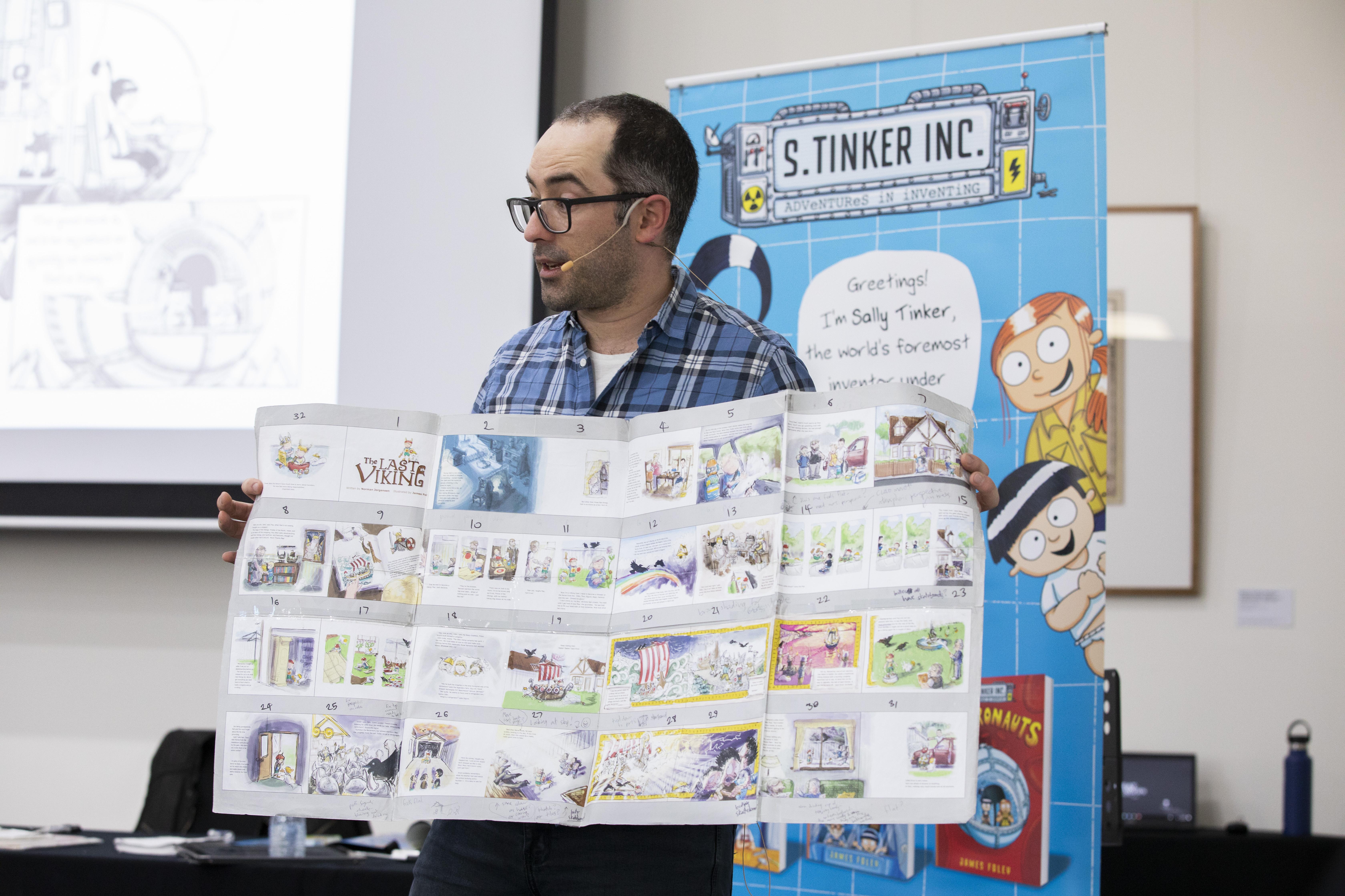 Children's author James Foley