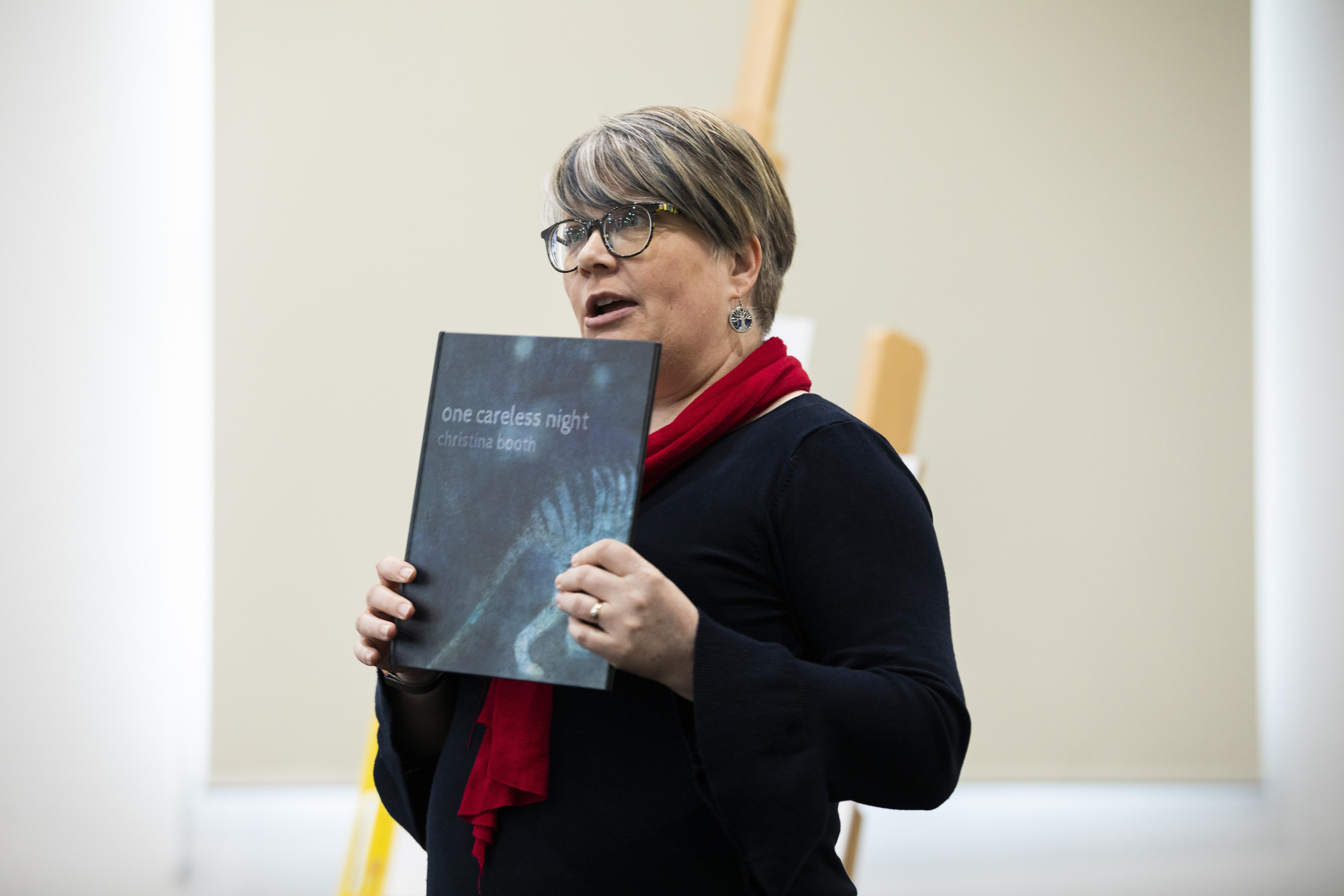 Children's author Christina Booth