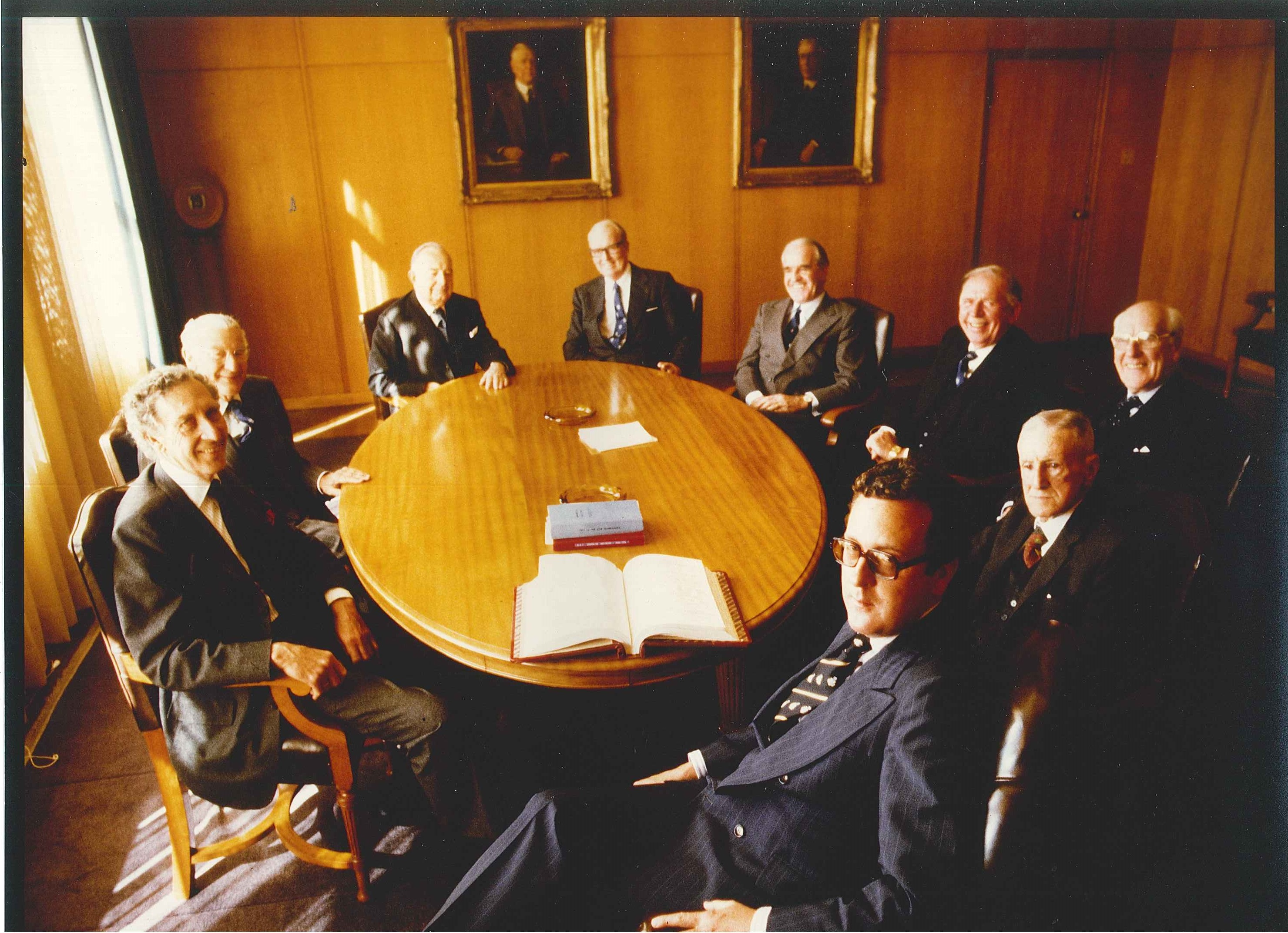 The Board of John Fairfax Limited 1978