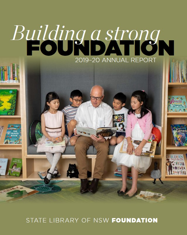 Cover of 2019-20 Foundation Annual Report