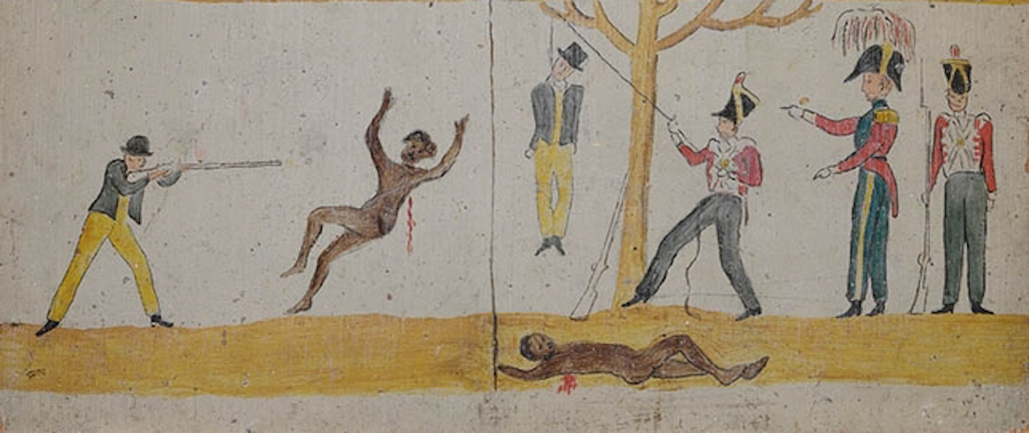 Image of the fourth section of Governor Arthur's Proclamation to the Aborigines