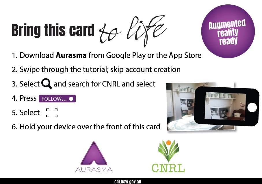 Augmented reality instructions for Central Northern Regional Library