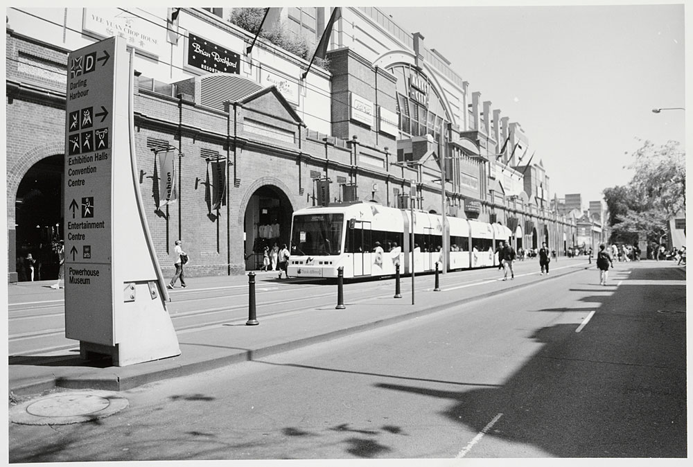 Sydney Light Rail, 2000, by David Hodgson, Silver gelatin photoprint, PXA 1062/91