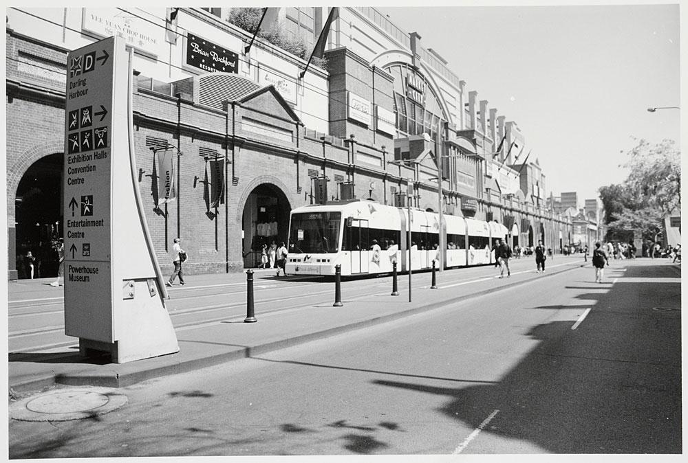 Sydney Light Rail, 2000, by David Hodgson, Silver gelatin photoprint, PXA 1062/91