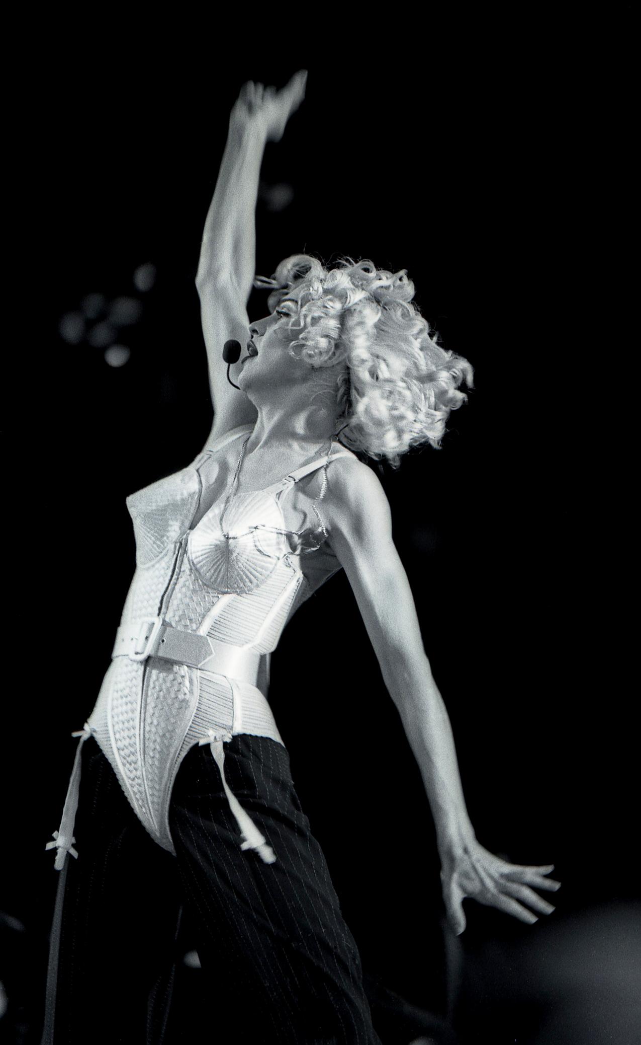 Madonna performs live