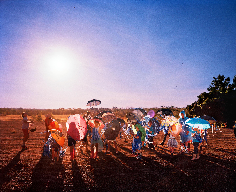 "2018 Nikon-Walkley Press Photography ""Rain On My Parade"" by Matthew Abbott, Oculi."