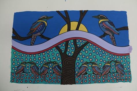 Bronwyn Bancroft kookaburra