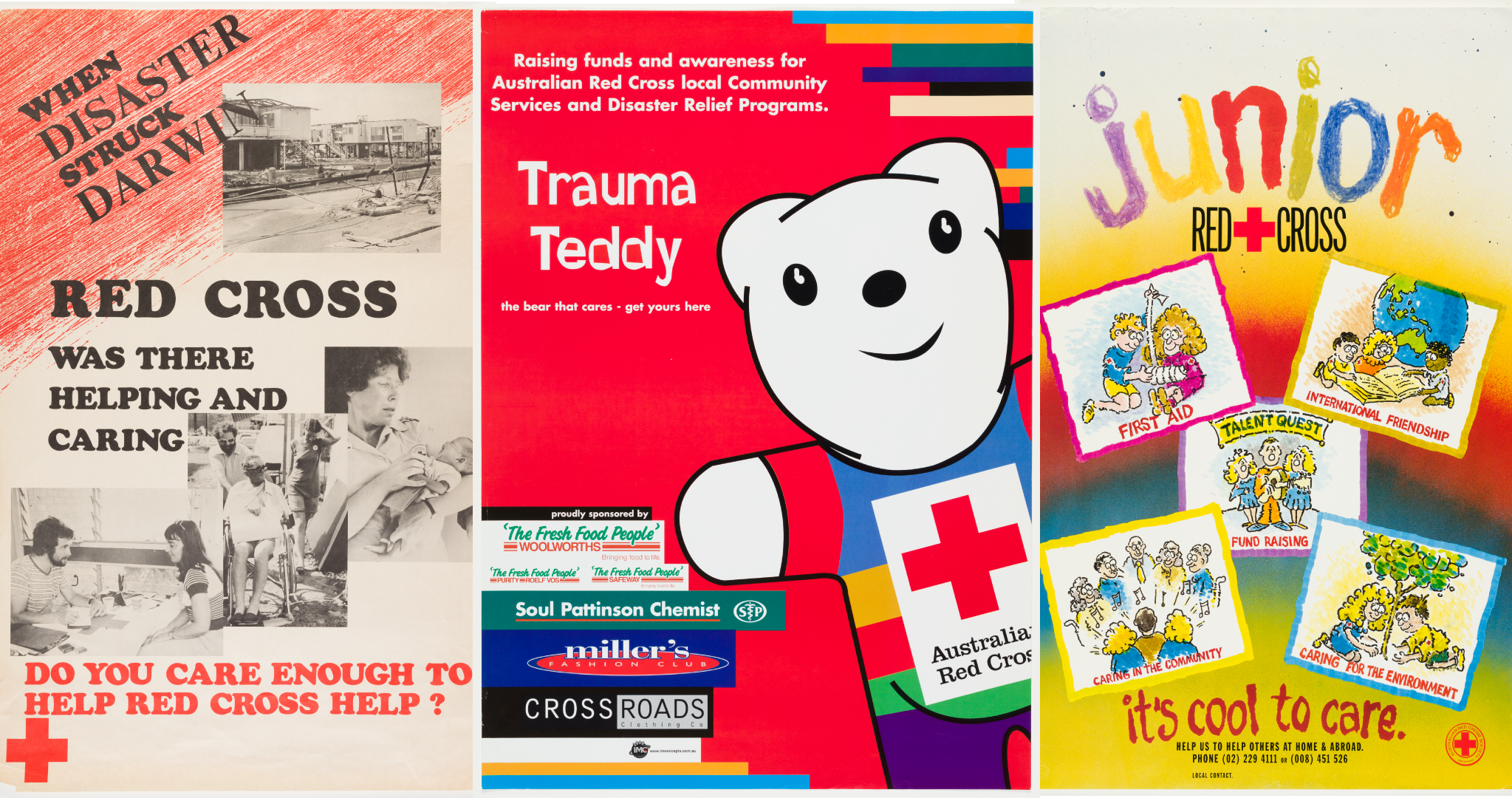 Junior Red Cross posters
