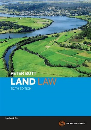 Cover for Land law book