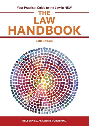Cover Image for Law Handbook