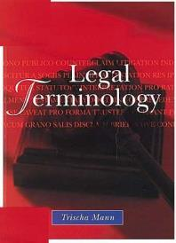 Cover for Legal terminology