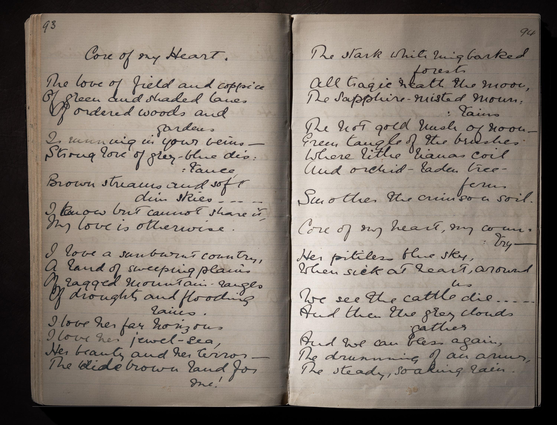 Dorothea Mackellar - Core of My Heart - Verses 1907-1908