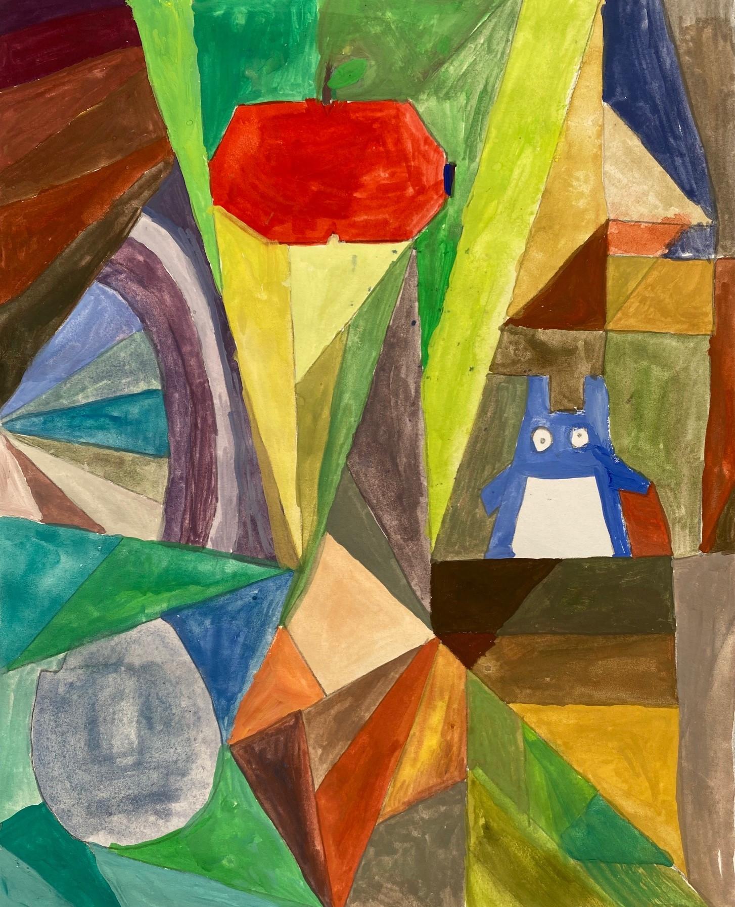 Mavis -artwork inspired by Paul Klee