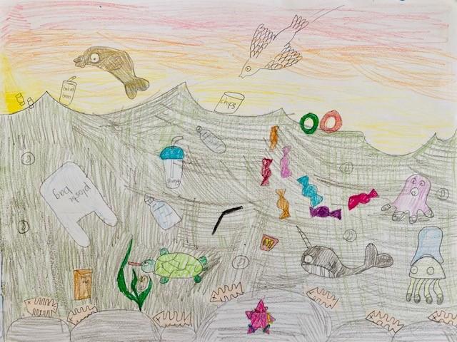 Mavis - Underwater pollution