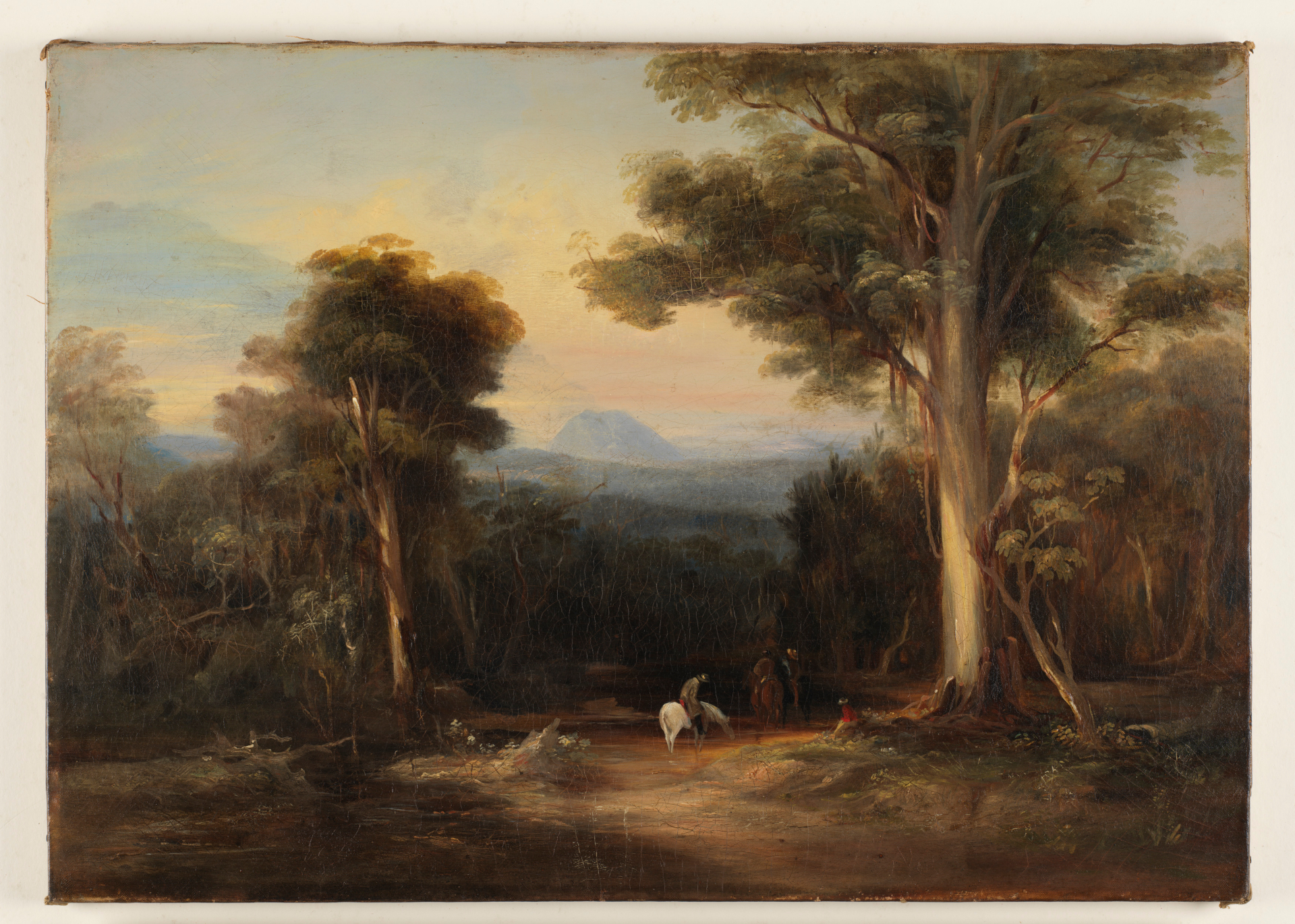 [Mount King George from the Bathurst Road] 1848 / Conrad Martens