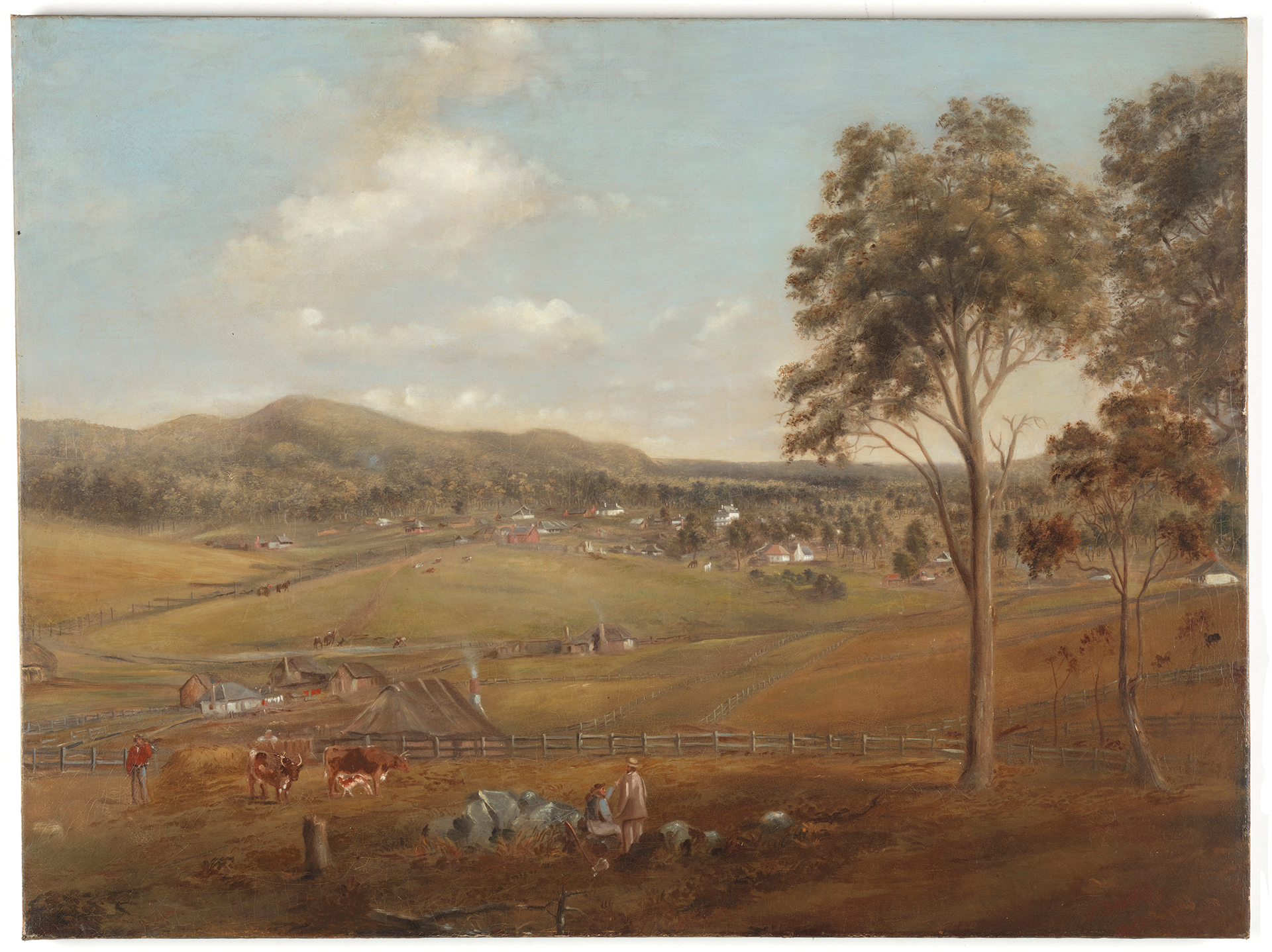 [View of Tenterfield] / Joseph Backler