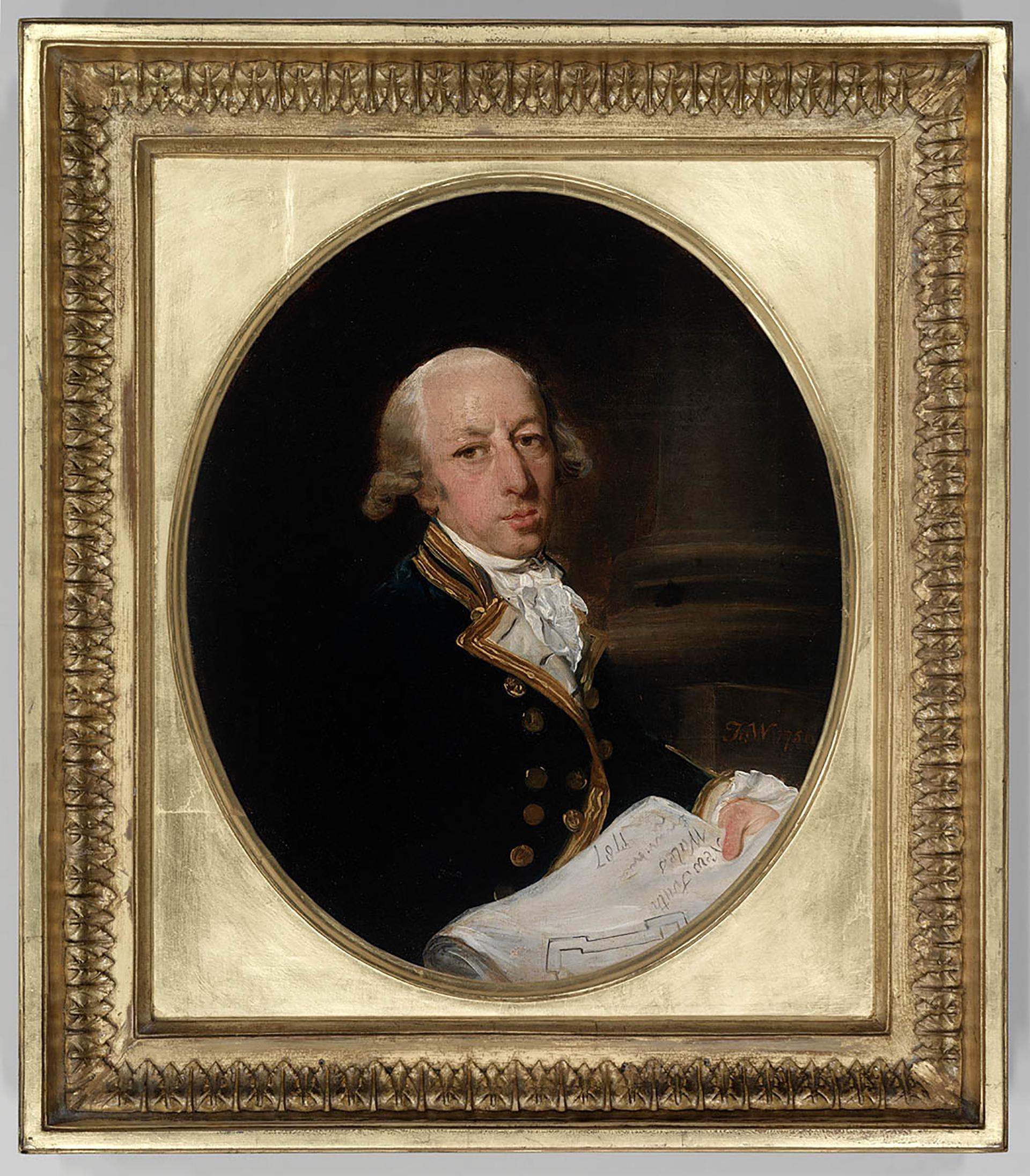[Captain Arthur Phillip, 1786] / painted by Francis Wheatley