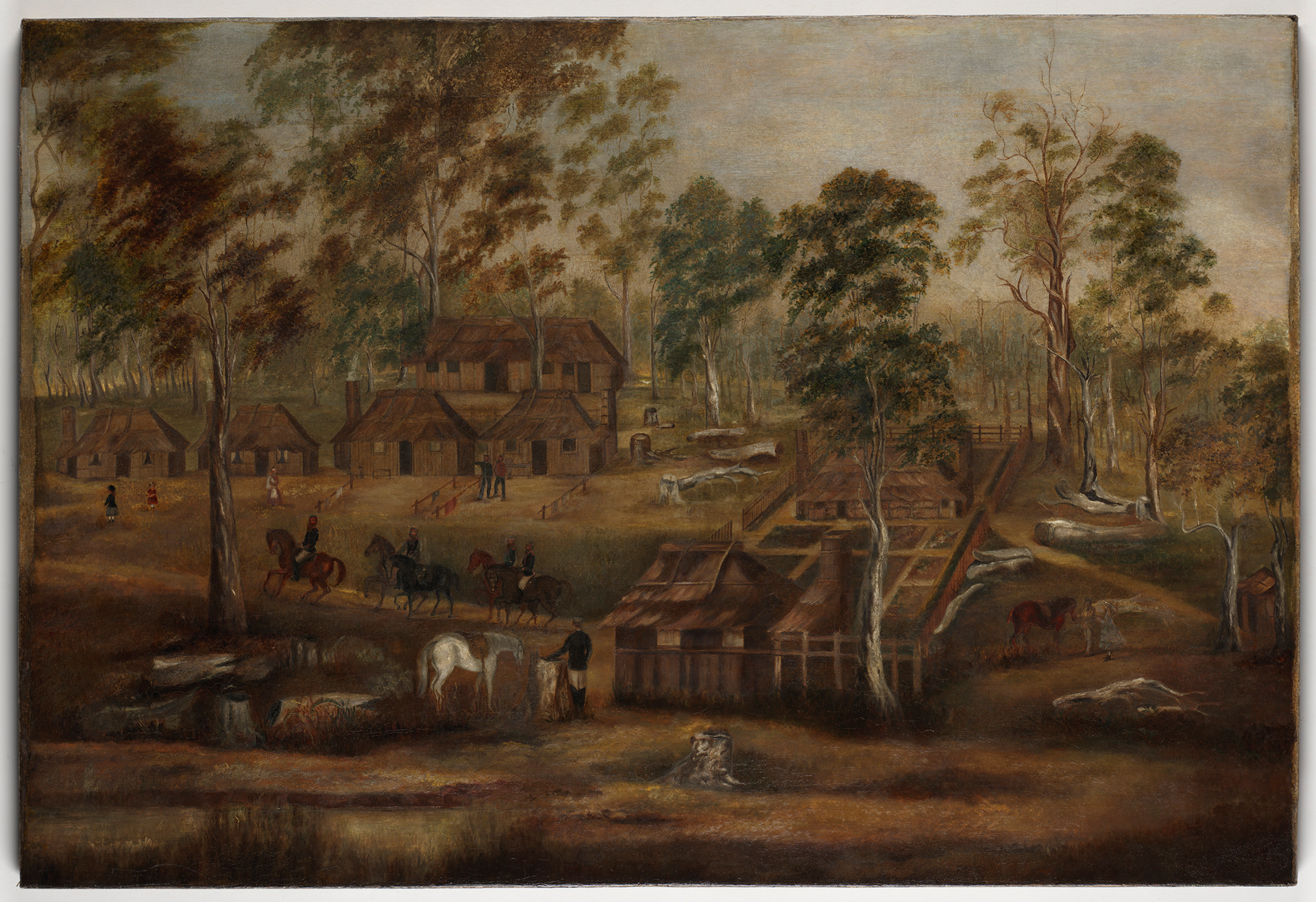 The Gold Commissioner's station at Timbarra, New South Wales, ca 1870 / Mrs Louisa Green-Emmott