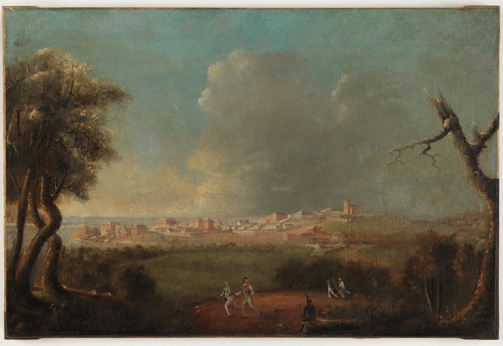 Port Macquarie, 1833? / probably by J. Backler
