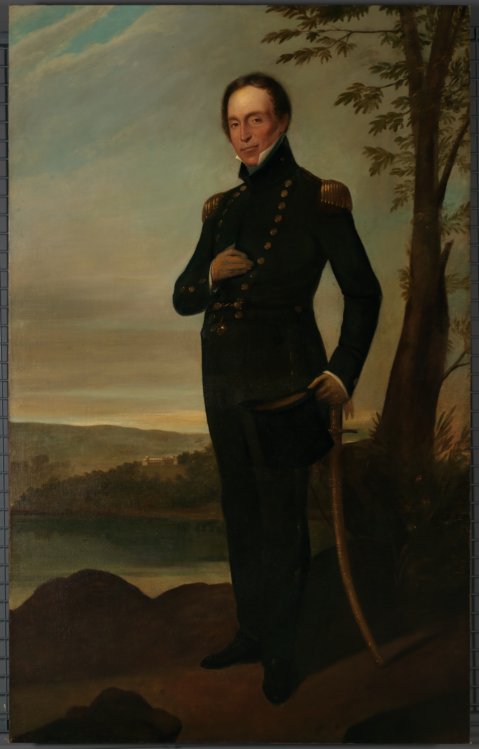 [Captain John Piper, ca. 1826 / oil painting by Augustus Earle]