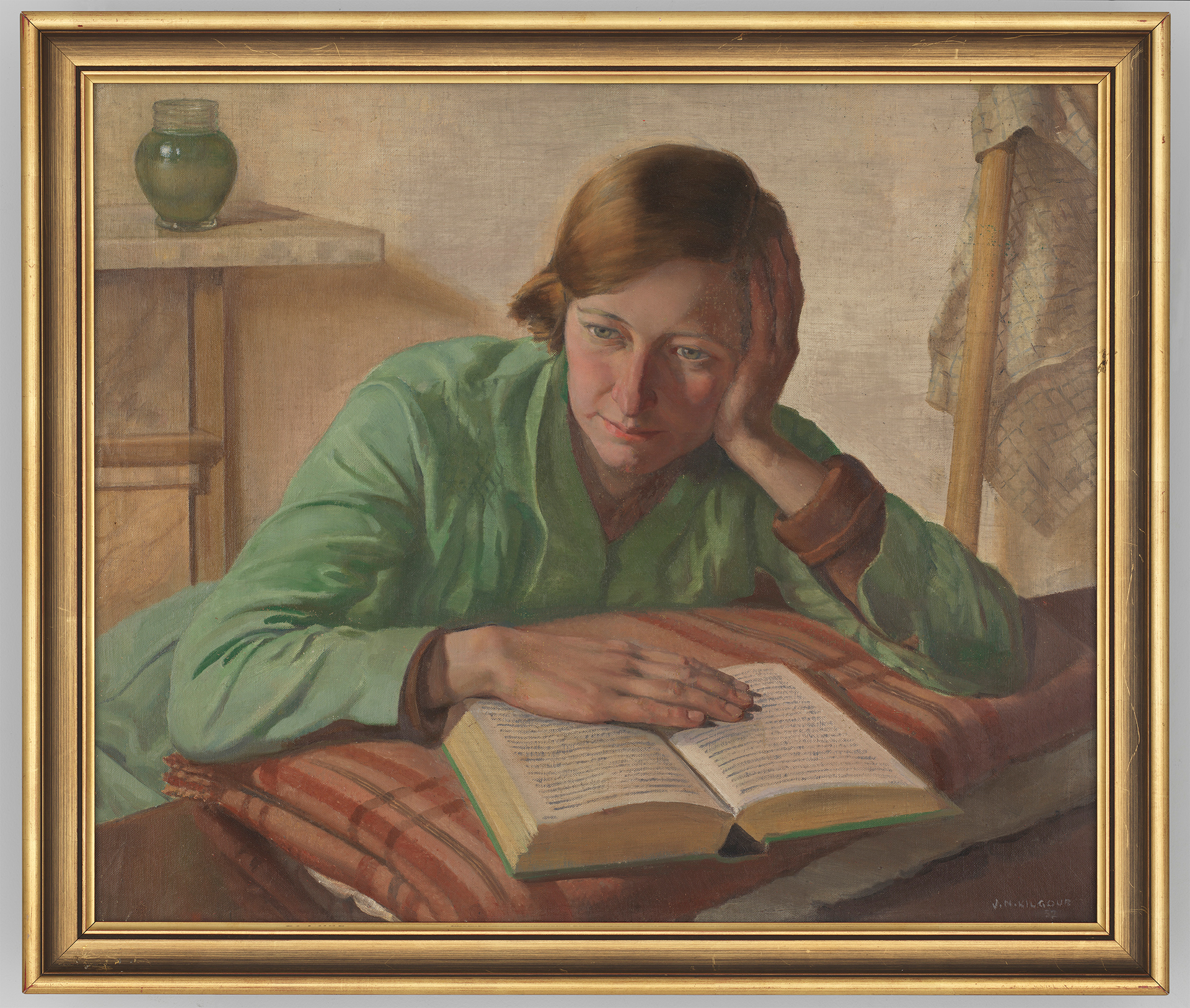 Portrait of Nancy May Kilgour, 1932 / Jack Noel Kilgour