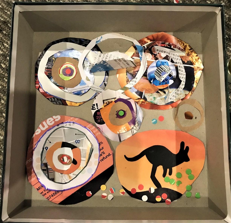 Neo - Circle collage box