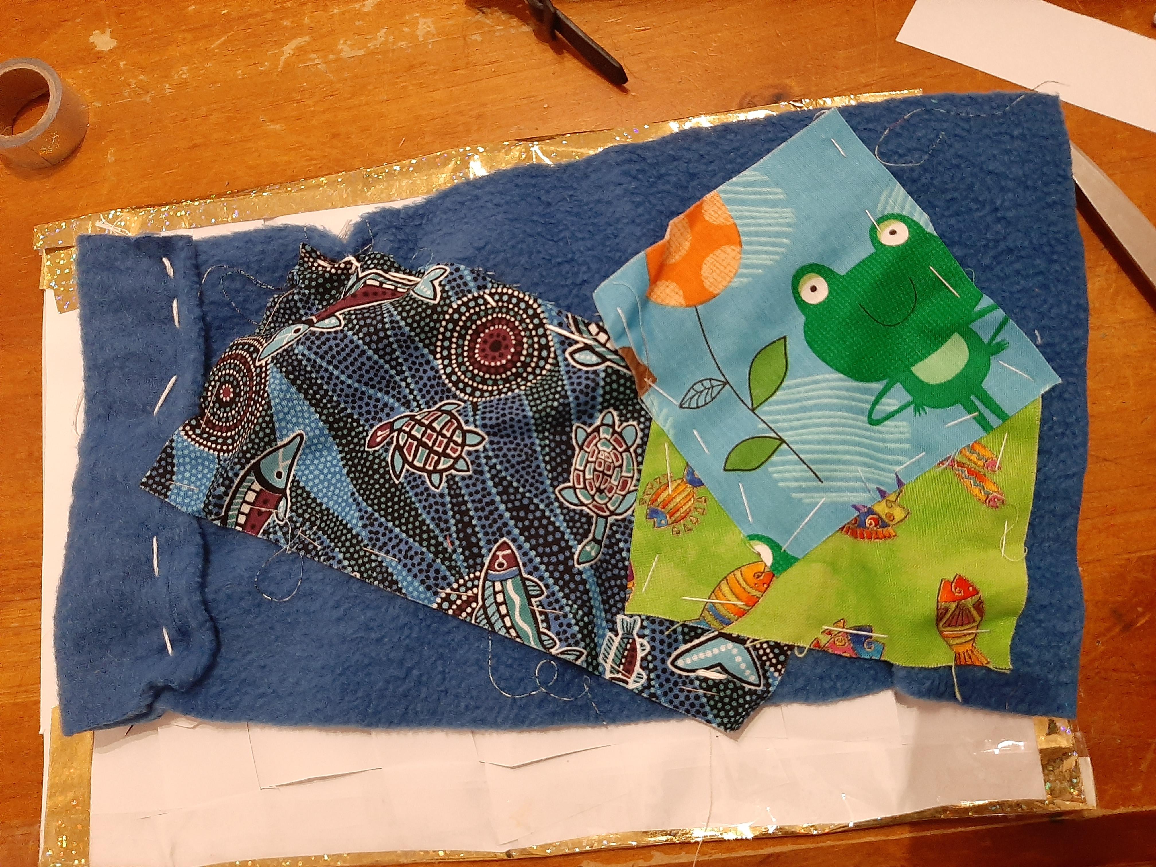 Nick and Tim - Fabric