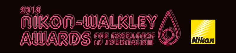 nikon walkley 2018 logo