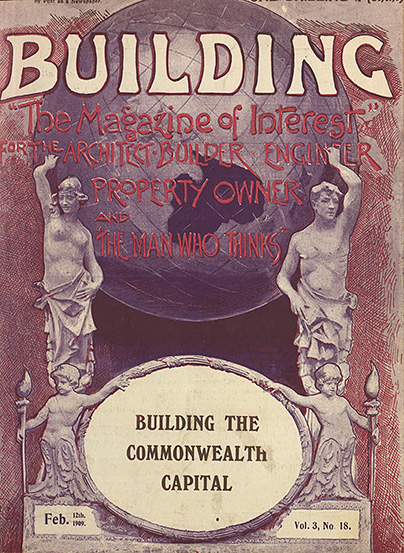 Image of the cover of the Building magazine