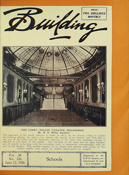 Image of Building magazine cover