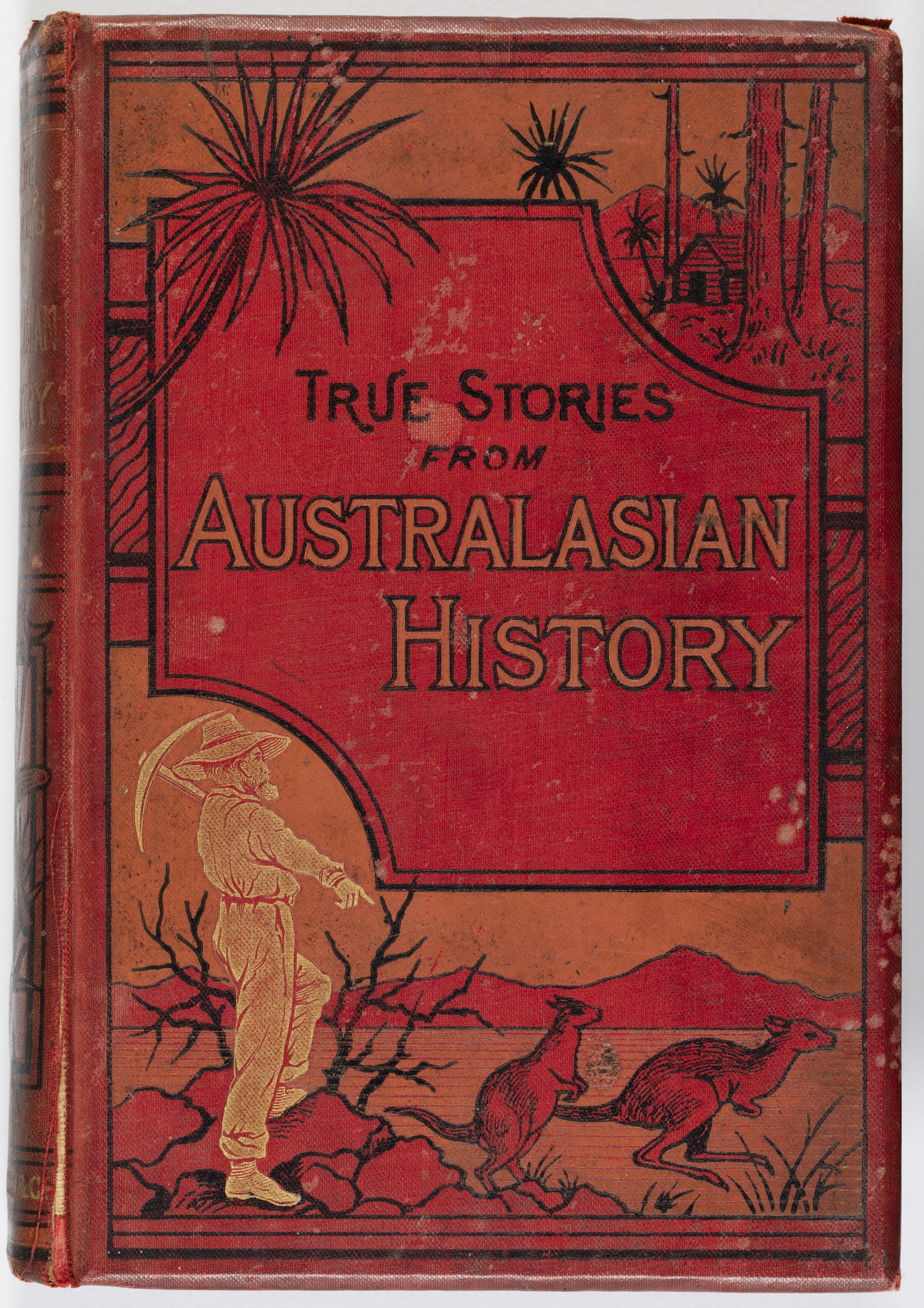 Cover of the True Stories from Australian History Book