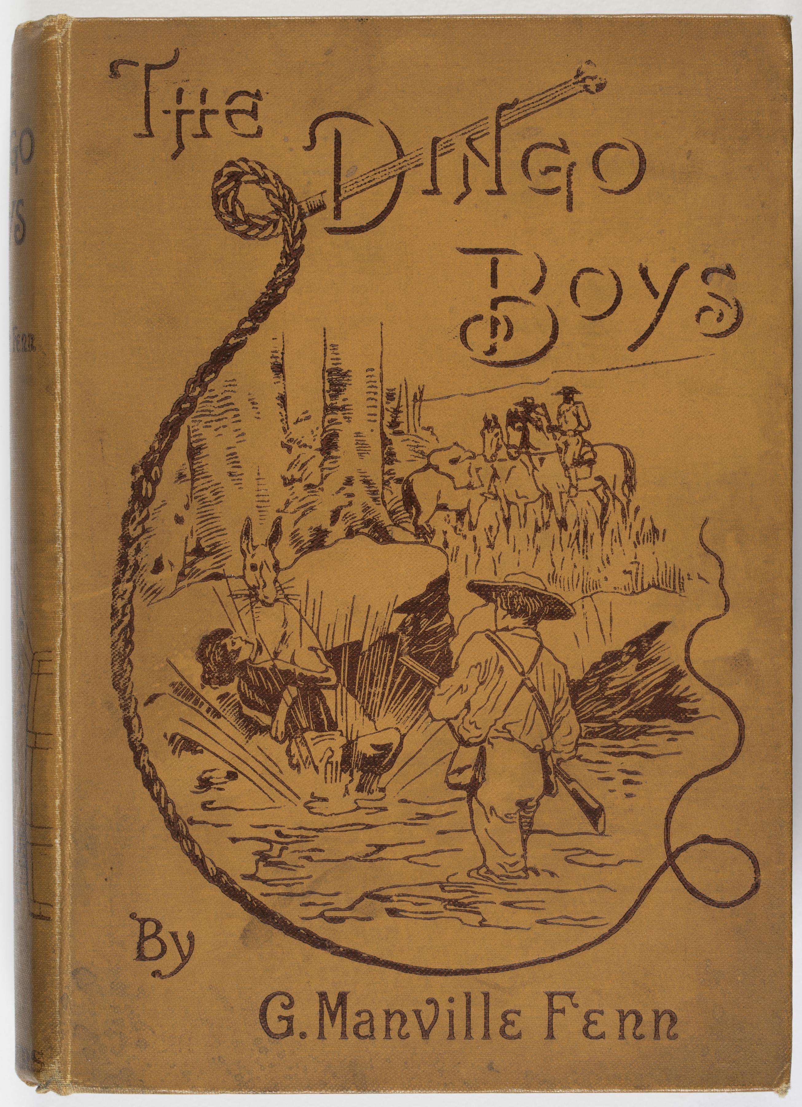 Cover of the The Dingo Boys Book
