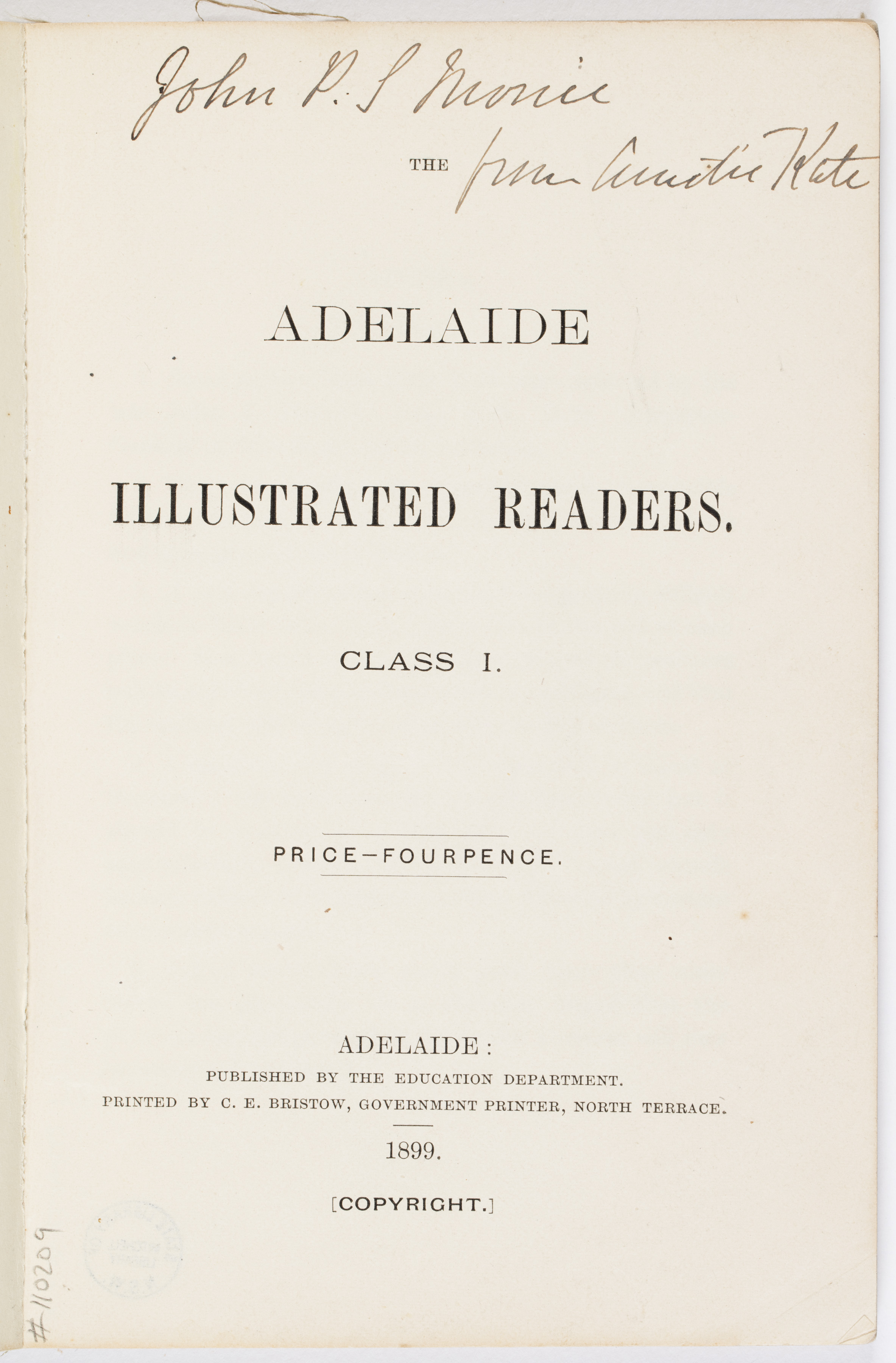 Image of the Adelaide Illustrated Readers