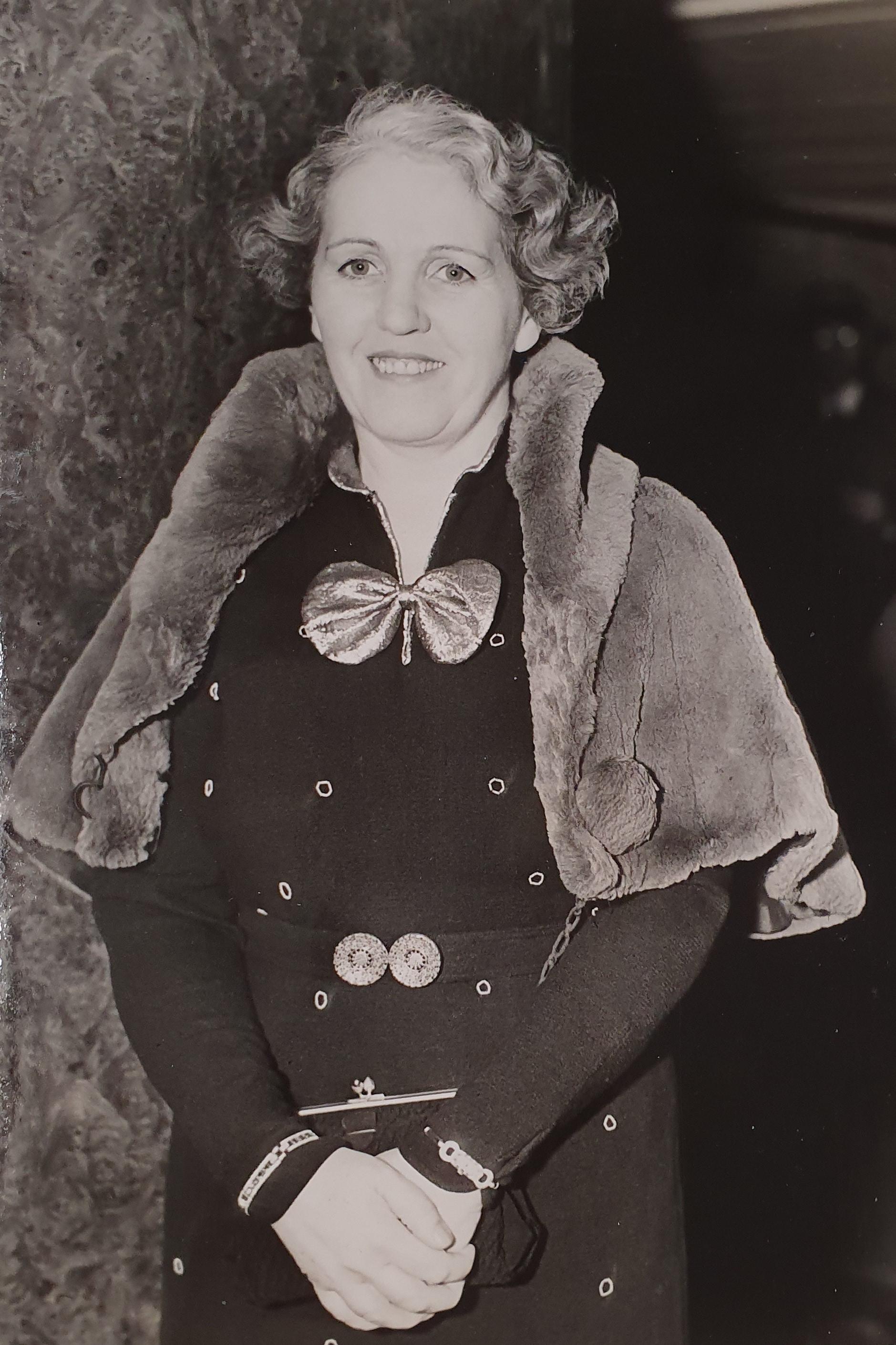 June Marsden, famous astrologer of Sydney, Australia