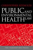 Cover for Public and environmental health law