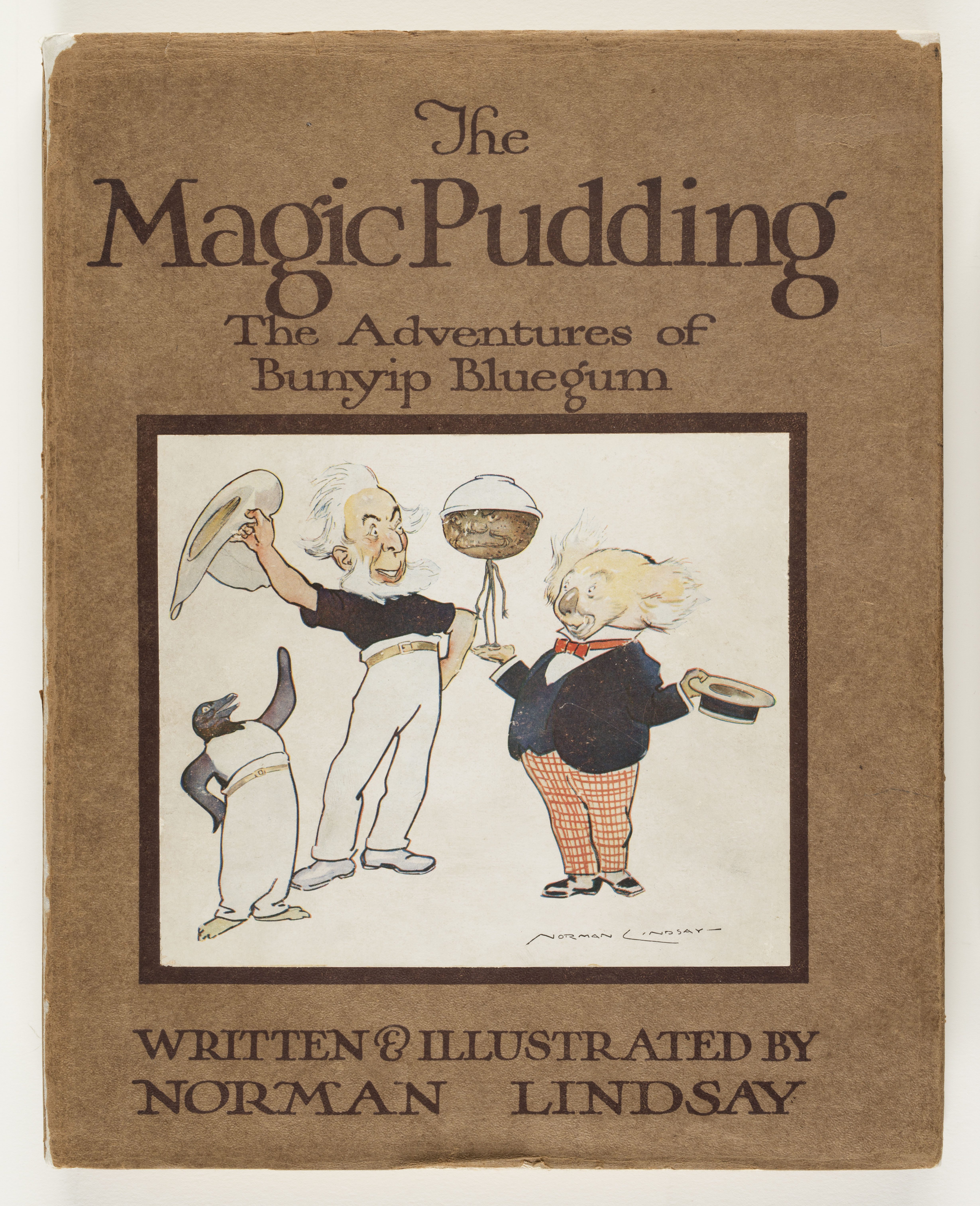 The Magic Pudding book jacket, 1918