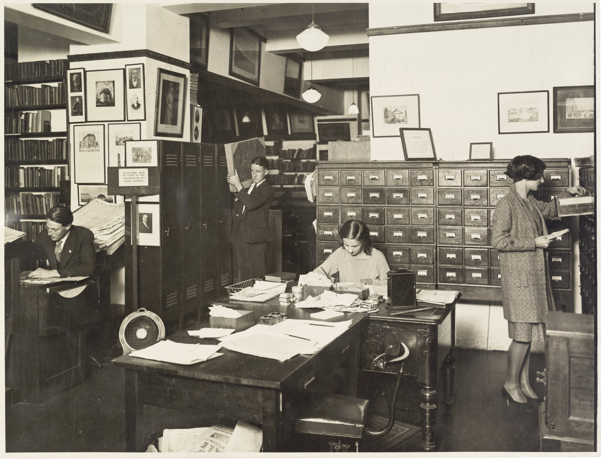 Fairfax offices, 1931,
