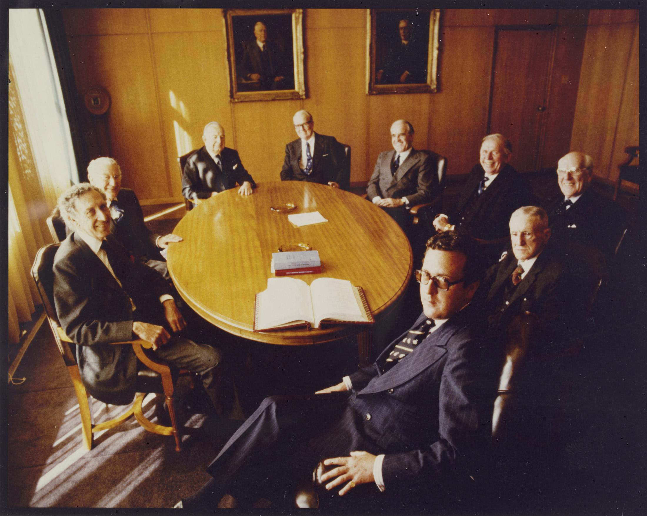John Fairfax Ltd Board meeting, October 1978
